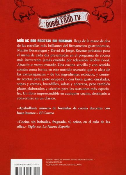 Libro - Más de 999 recetas sin bobadas (Bestseller)