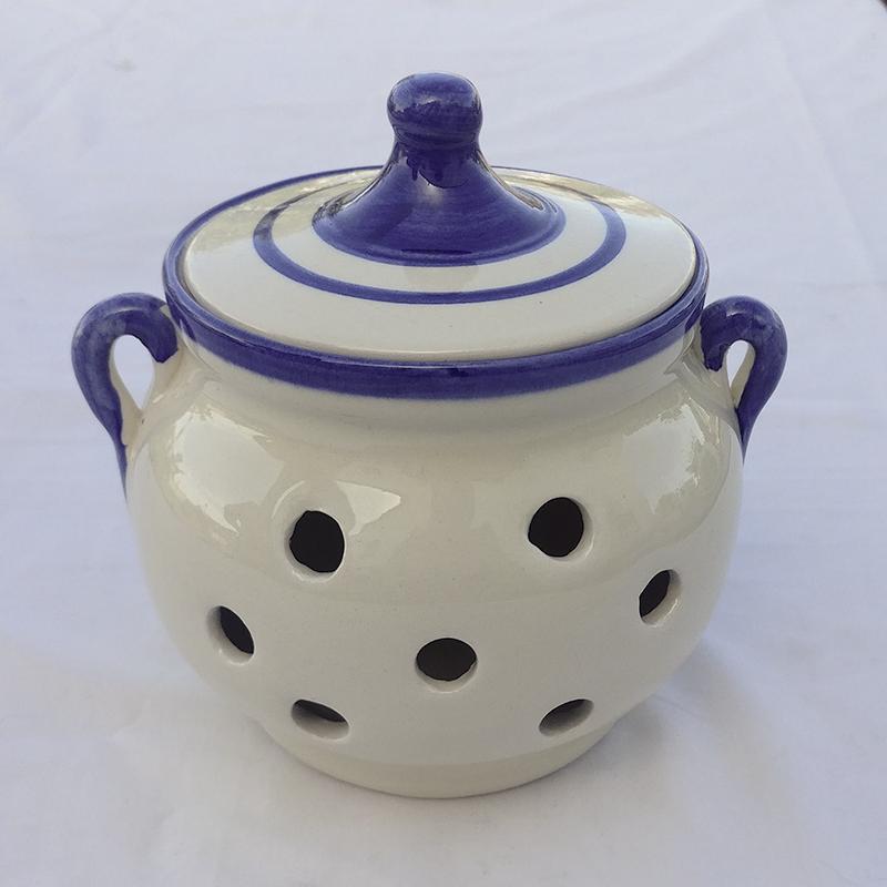 """Ajero de cerámica """"Ramito Azul"""""""