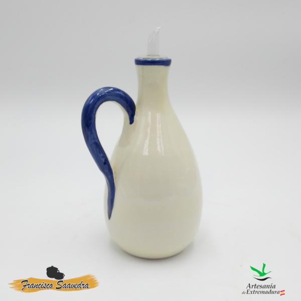 """Aceitera de cerámica """"Ramito"""""""