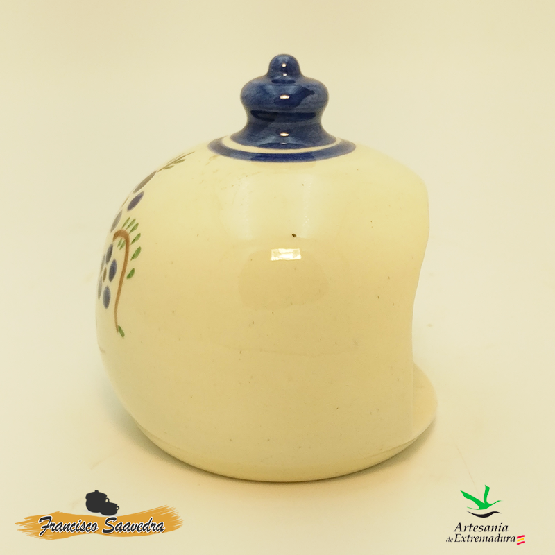 """Estropajero de cerámica """"Ramito"""""""