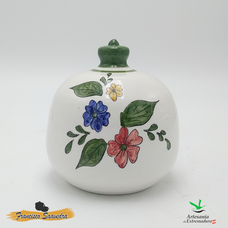 "Estropajero de cerámica ""Tricolor"""